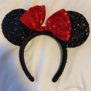 Minnie Mouse Ears Headband Sparkly Mickey Disney